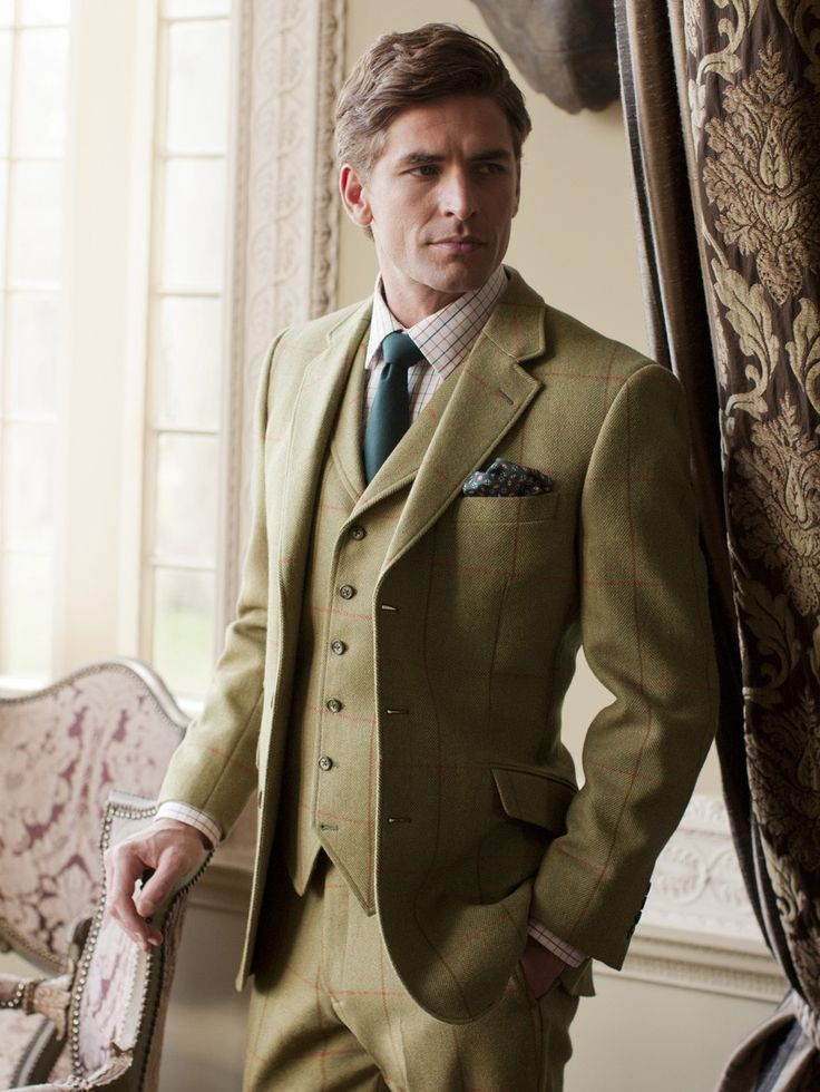 Why Tweed Suits Are Perfect Wedding Day Suits